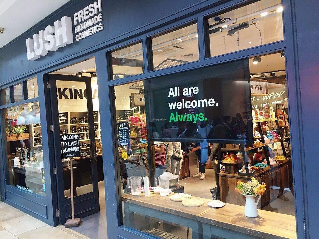 """Photo of Lush  by <a href=""""/members/profile/TARAMCDONALD"""">TARAMCDONALD</a> <br/>Lush, Bluewater 80% vegan, nothing is tested on animals <br/> October 1, 2017  - <a href='/contact/abuse/image/97182/310781'>Report</a>"""