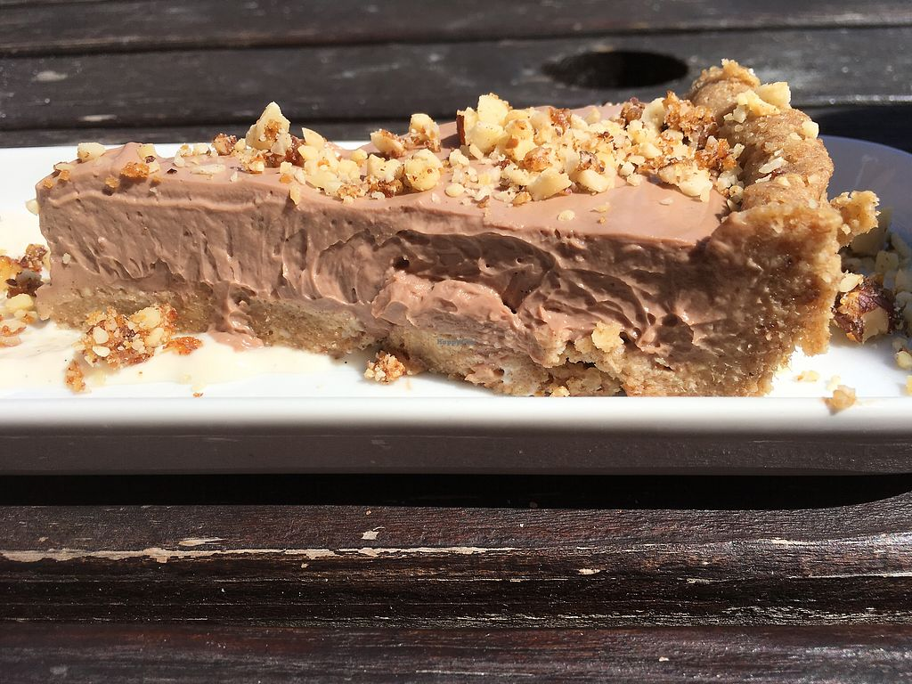 "Photo of Drakes Pub  by <a href=""/members/profile/littley"">littley</a> <br/>Hazelnut chocolate mousse tart with vanilla yogurt  <br/> August 7, 2017  - <a href='/contact/abuse/image/97228/290093'>Report</a>"