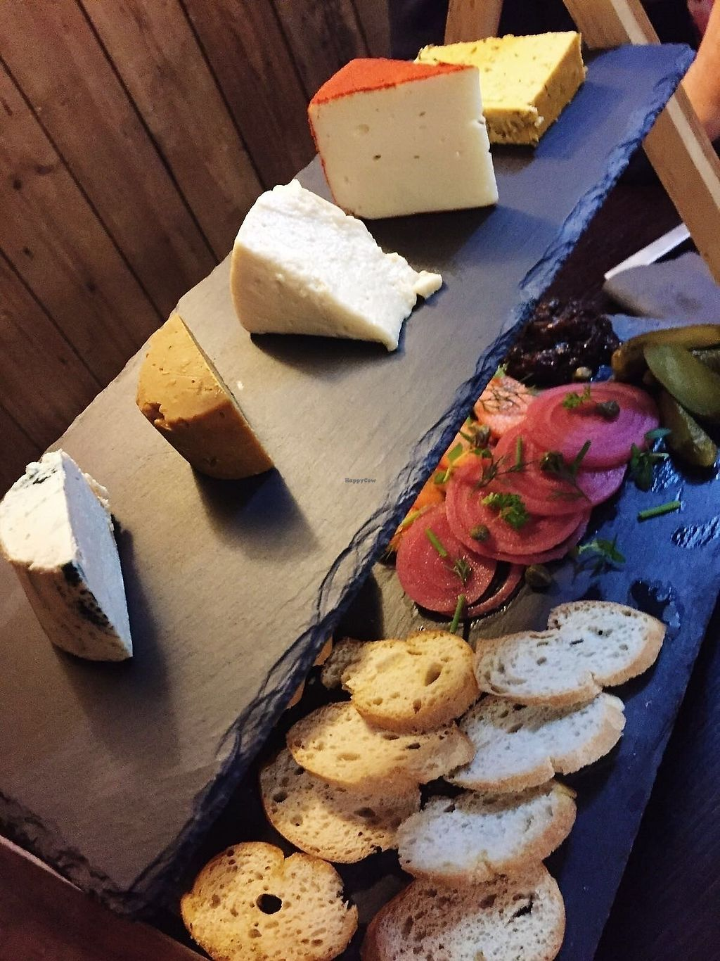 "Photo of Drakes Pub  by <a href=""/members/profile/TARAMCDONALD"">TARAMCDONALD</a> <br/>Incredible artizan vegan cheese board! <br/> October 16, 2017  - <a href='/contact/abuse/image/97228/315872'>Report</a>"