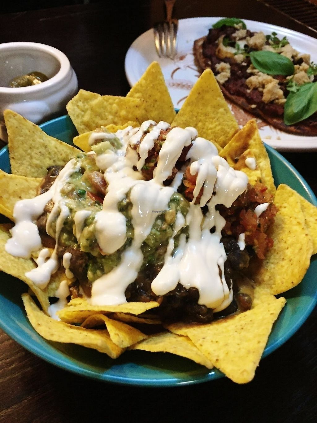 "Photo of Drakes Pub  by <a href=""/members/profile/TARAMCDONALD"">TARAMCDONALD</a> <br/>Vegan fully loaded nachos! <br/> October 16, 2017  - <a href='/contact/abuse/image/97228/315876'>Report</a>"