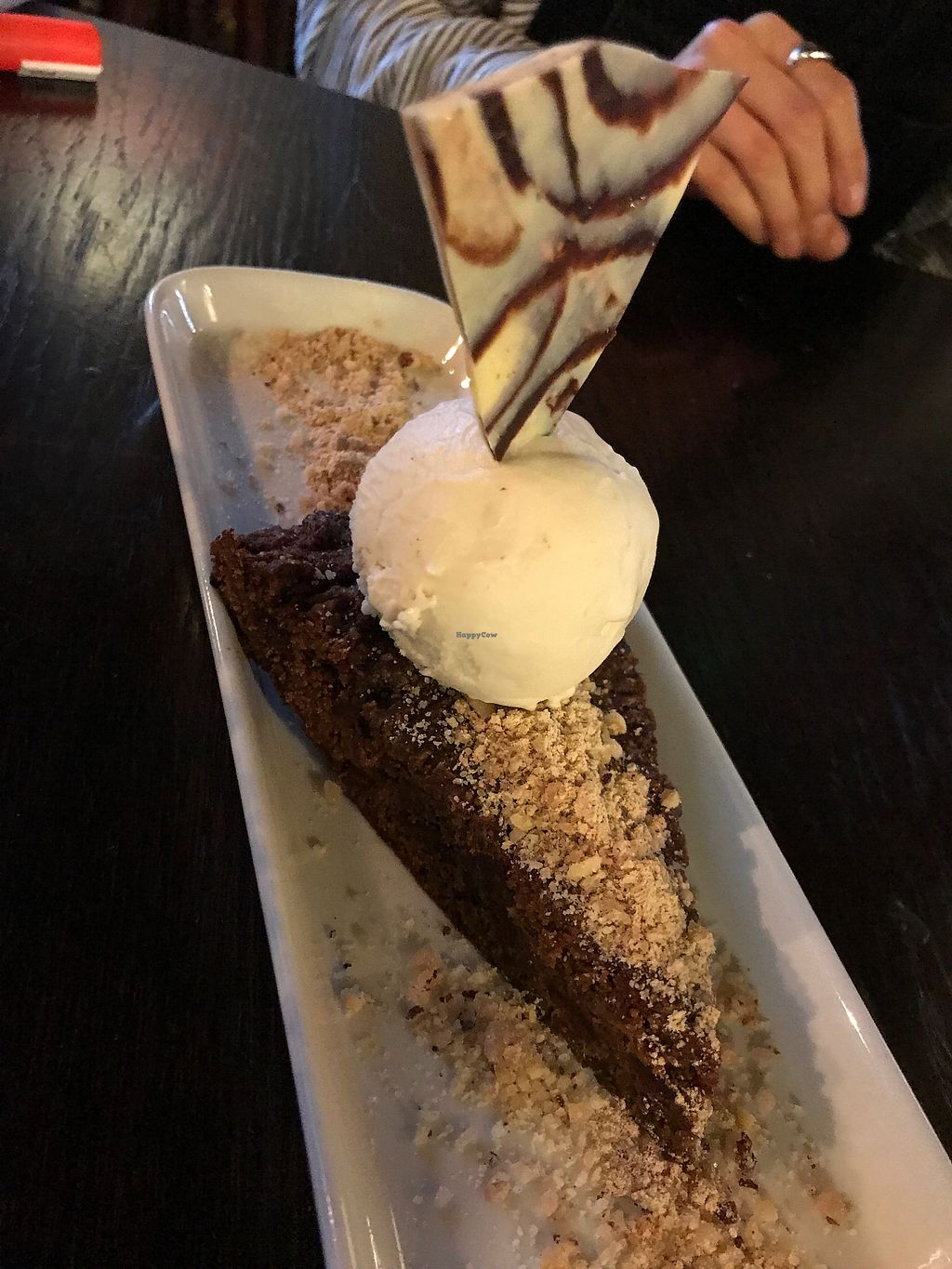 "Photo of Drakes Pub  by <a href=""/members/profile/candii_h"">candii_h</a> <br/>Chocolate & maca brownie with cashew & vanilla ice cream <br/> January 28, 2018  - <a href='/contact/abuse/image/97228/352030'>Report</a>"