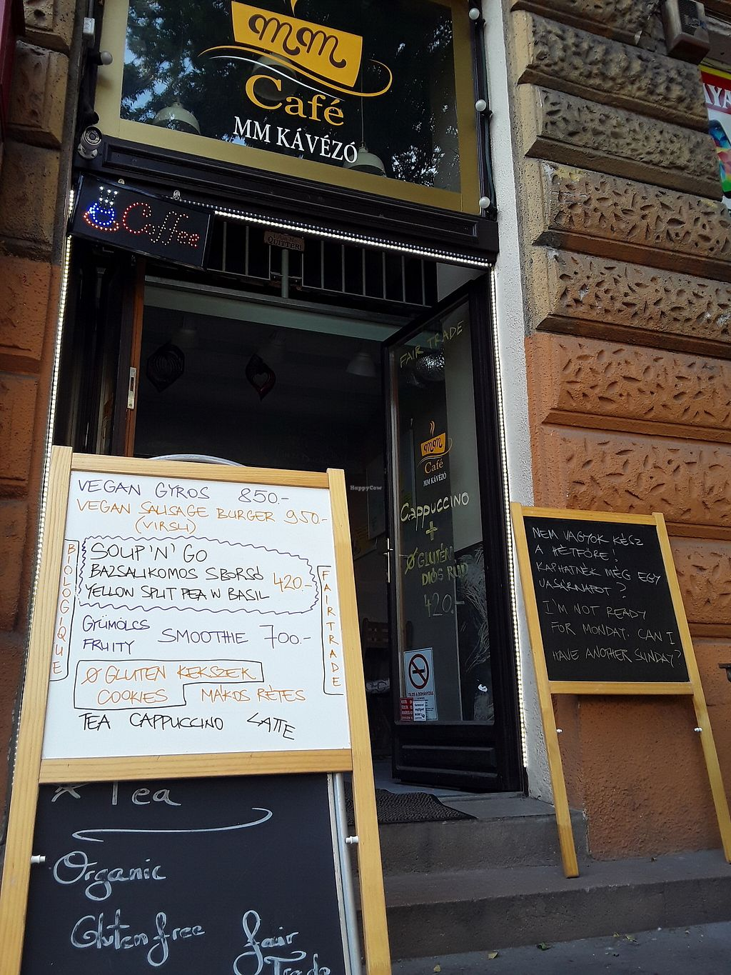 Photo of CLOSED: MM VegaCafé  by Zora <br/>Entry to healthiasm <br/> August 27, 2017  - <a href='/contact/abuse/image/97254/297815'>Report</a>