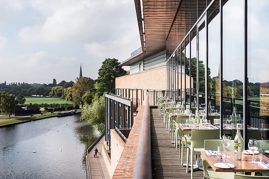 """Photo of Rooftop Restaurant and Bar - Royal Shakespeare Company  by <a href=""""/members/profile/healaing"""">healaing</a> <br/>Views from the Rooftop Restaurant <br/> July 31, 2017  - <a href='/contact/abuse/image/97273/287023'>Report</a>"""