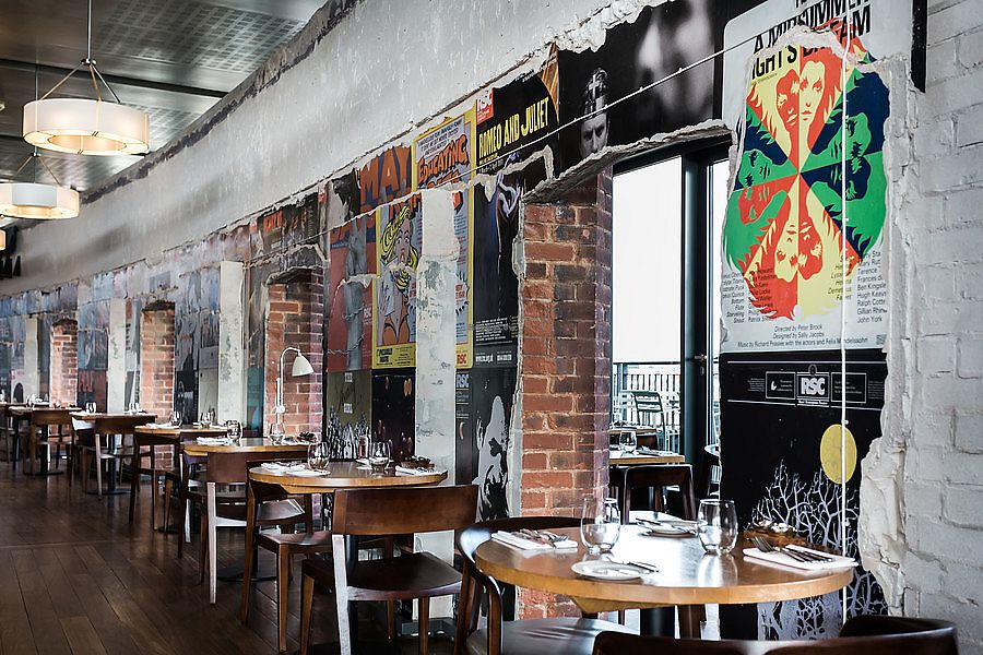 """Photo of Rooftop Restaurant and Bar - Royal Shakespeare Company  by <a href=""""/members/profile/healaing"""">healaing</a> <br/>inside the Rooftop Restaurant <br/> July 31, 2017  - <a href='/contact/abuse/image/97273/287024'>Report</a>"""