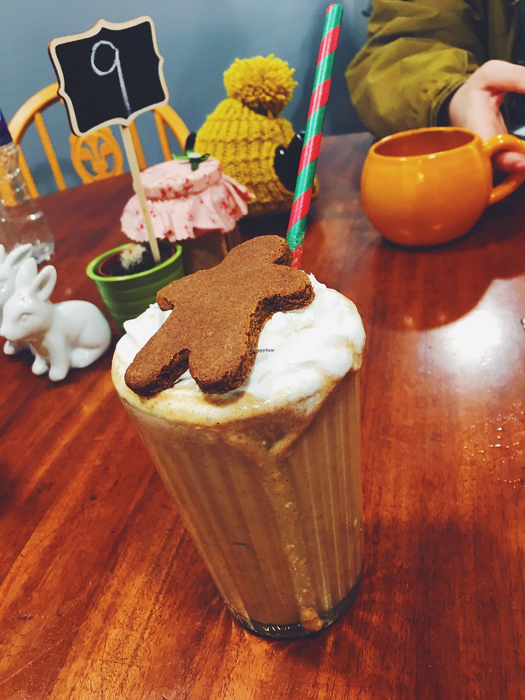 "Photo of The Herbivore Kitchen  by <a href=""/members/profile/malinfrisell"">malinfrisell</a> <br/>Gingerbread milkshake  <br/> November 19, 2017  - <a href='/contact/abuse/image/97309/327095'>Report</a>"
