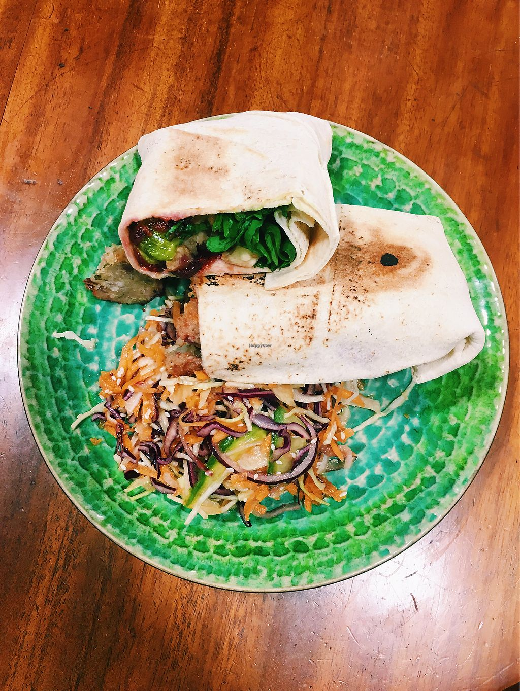 "Photo of The Herbivore Kitchen  by <a href=""/members/profile/malinfrisell"">malinfrisell</a> <br/>Wrap with a sesame salad  <br/> November 19, 2017  - <a href='/contact/abuse/image/97309/327096'>Report</a>"