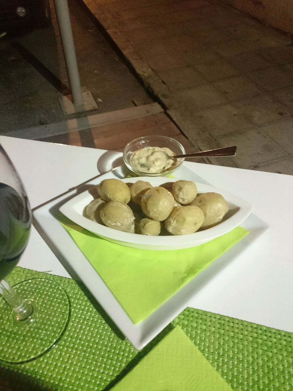 """Photo of Past & Future  by <a href=""""/members/profile/ShionaMcLeod"""">ShionaMcLeod</a> <br/>Dumplings and garlic sauce <br/> September 28, 2017  - <a href='/contact/abuse/image/97310/309462'>Report</a>"""