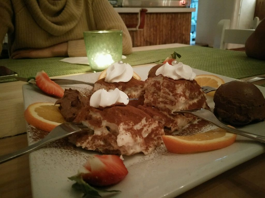 """Photo of Past & Future  by <a href=""""/members/profile/SavPomegranate"""">SavPomegranate</a> <br/>Dessert selection, tiramisu and chocolate <br/> January 30, 2018  - <a href='/contact/abuse/image/97310/352680'>Report</a>"""