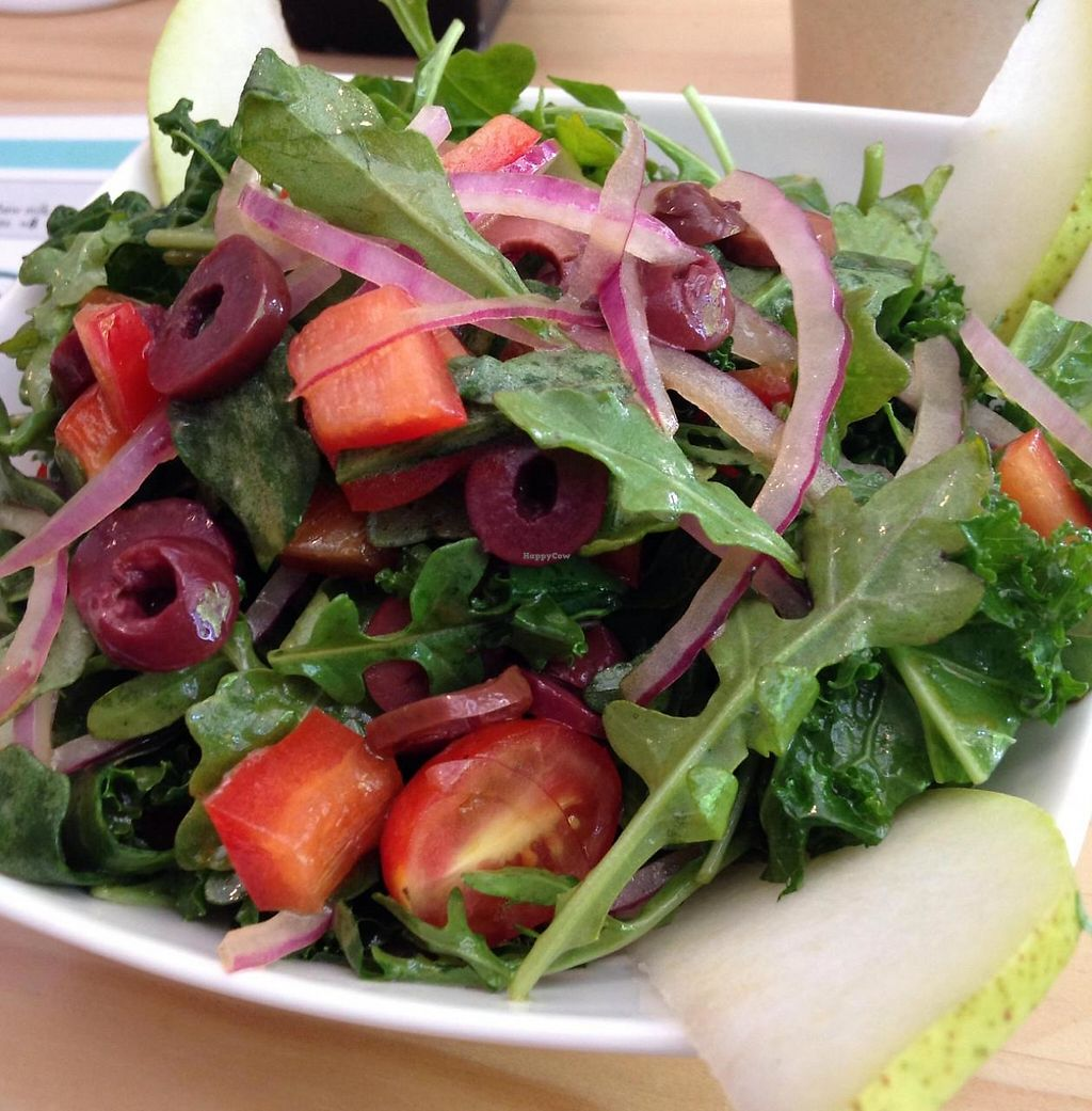 "Photo of Quintessence  by <a href=""/members/profile/cookiem"">cookiem</a> <br/>Small kale arugula salad <br/> June 22, 2015  - <a href='/contact/abuse/image/9731/210715'>Report</a>"