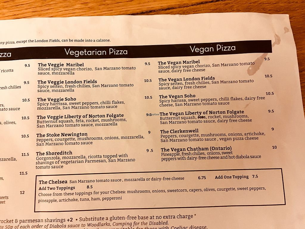 "Photo of Wedge Issue Pizza  by <a href=""/members/profile/kb3"">kb3</a> <br/>Veg menu <br/> February 28, 2018  - <a href='/contact/abuse/image/97330/365060'>Report</a>"