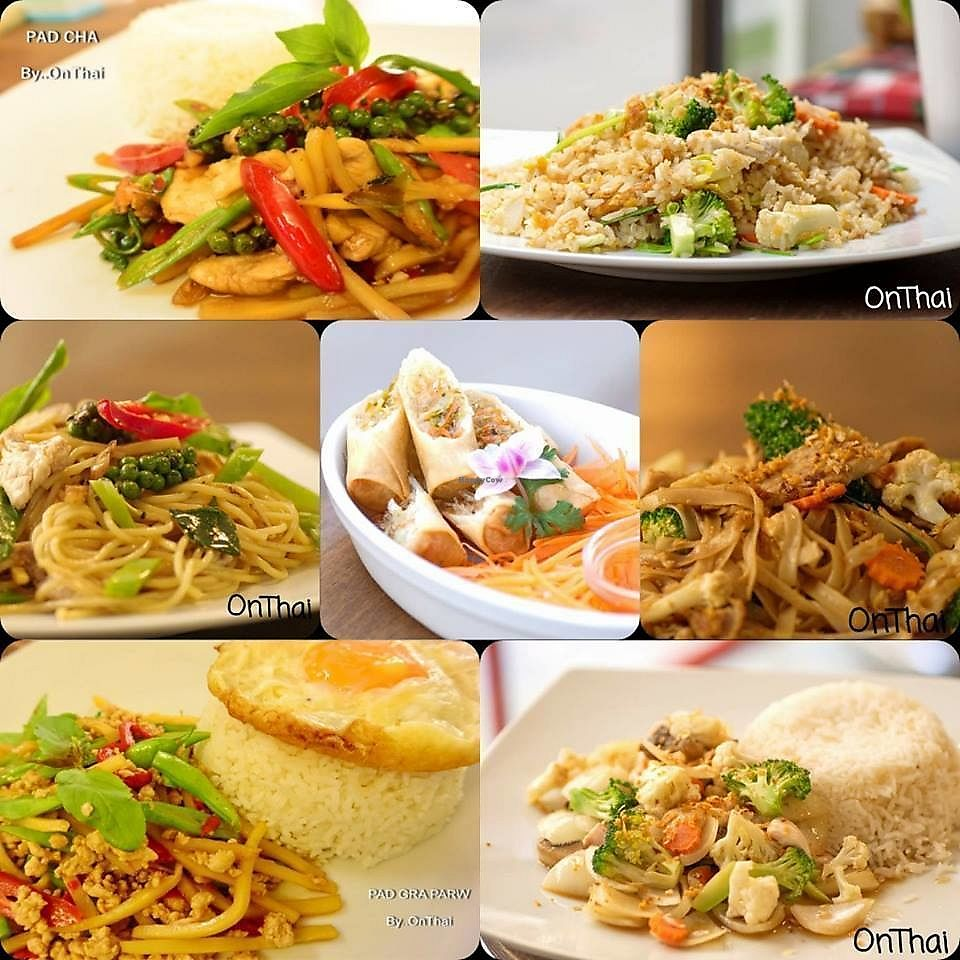 "Photo of OnThai  by <a href=""/members/profile/slovenianvegan"">slovenianvegan</a> <br/>Vegan dishes.