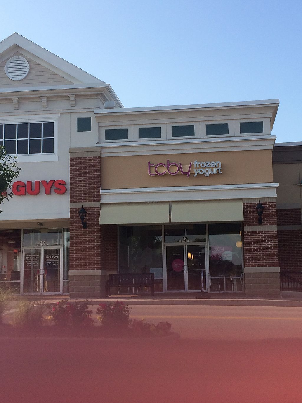 """Photo of CLOSED: TCBY  by <a href=""""/members/profile/fruitiJulie"""">fruitiJulie</a> <br/>outside in same development as Walmart and H&R Block <br/> July 30, 2017  - <a href='/contact/abuse/image/97381/286857'>Report</a>"""