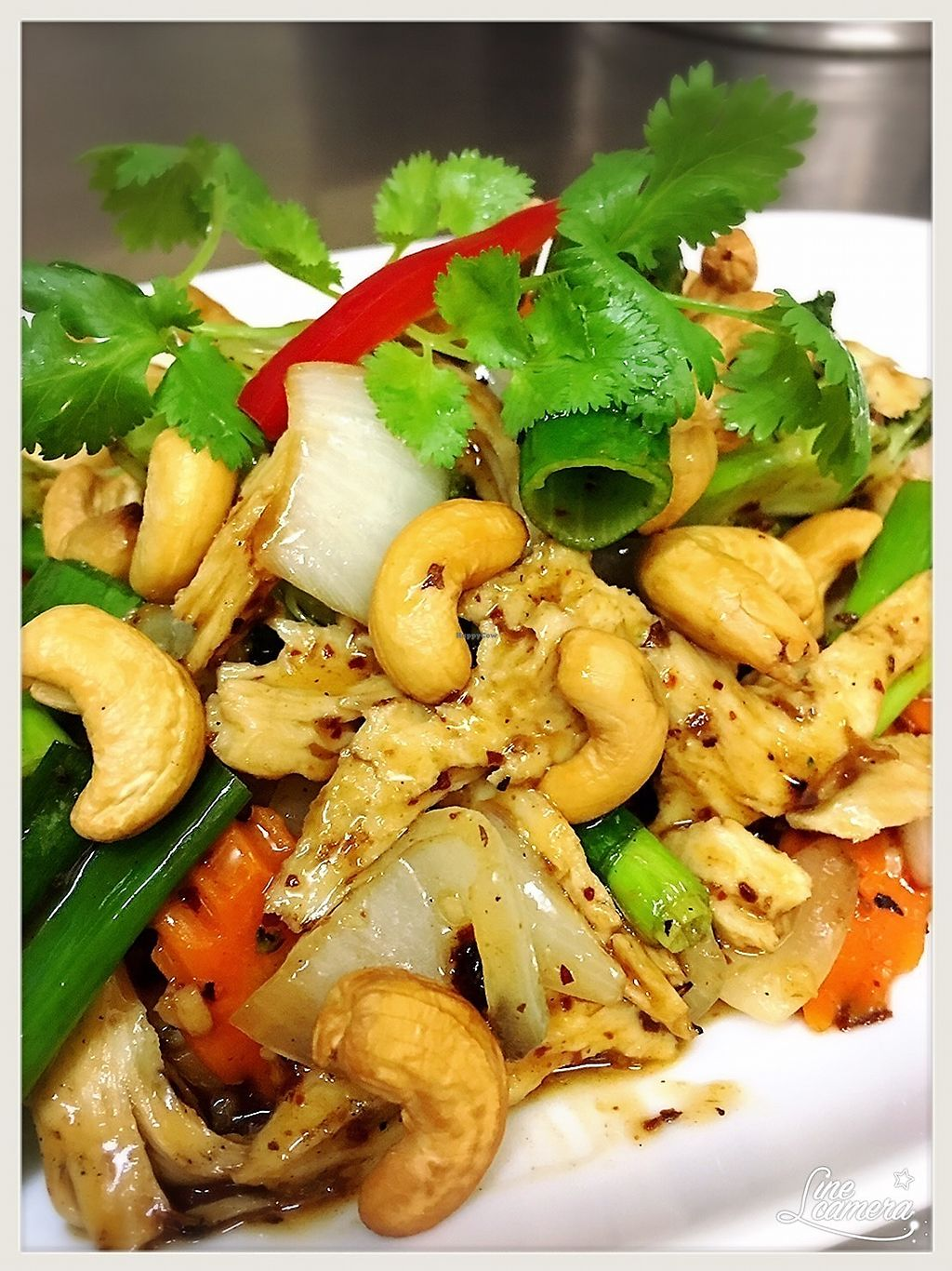 "Photo of Ummarin Thai  by <a href=""/members/profile/durianroll"">durianroll</a> <br/>Vegan cashew nut mock chicken stirfry <br/> December 25, 2017  - <a href='/contact/abuse/image/97390/338930'>Report</a>"