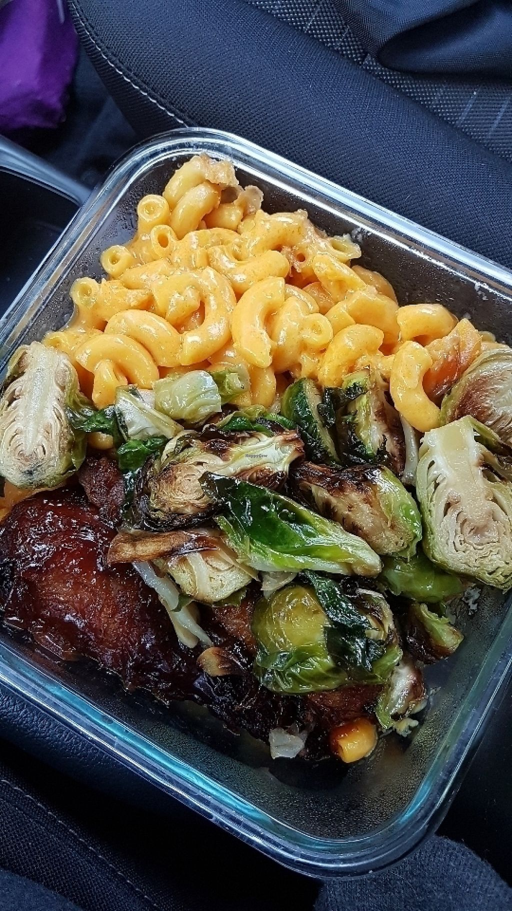 "Photo of Veggie Castle  by <a href=""/members/profile/unabashed"">unabashed</a> <br/>Brussels sprouts, drumsticks, and two portions of mac-n-cheese.  $8.75 and more than enough food for one person.   <br/> June 3, 2017  - <a href='/contact/abuse/image/9740/265467'>Report</a>"