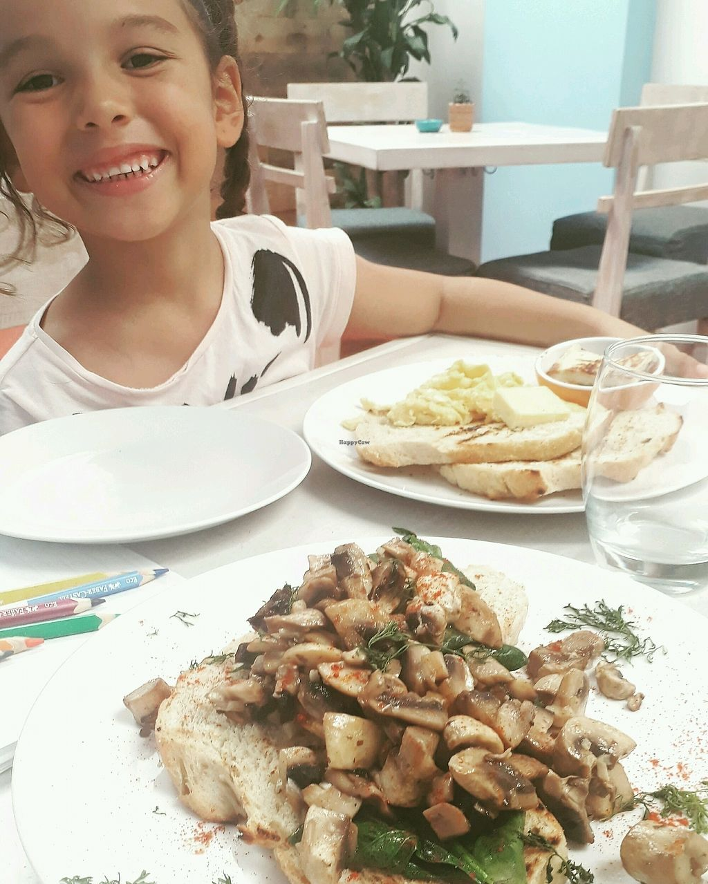 "Photo of Cafe Stepping Stone  by <a href=""/members/profile/1May"">1May</a> <br/>Happy breakfast!Sautéed mushrooms with spinach and homemade bread <br/> August 24, 2017  - <a href='/contact/abuse/image/97416/296630'>Report</a>"