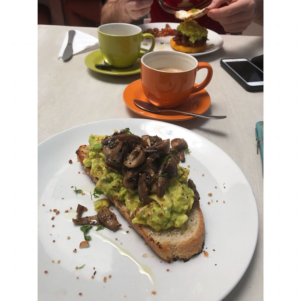 "Photo of Cafe Stepping Stone  by <a href=""/members/profile/dee_dee"">dee_dee</a> <br/>Smashed avocado with mushrooms ?? <br/> January 16, 2018  - <a href='/contact/abuse/image/97416/347231'>Report</a>"