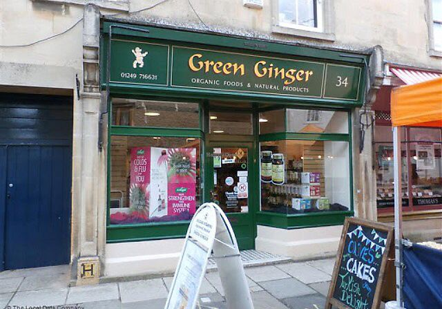 """Photo of Green Ginger  by <a href=""""/members/profile/VeggieFromSpace"""">VeggieFromSpace</a> <br/>front of store <br/> July 30, 2017  - <a href='/contact/abuse/image/97420/286558'>Report</a>"""