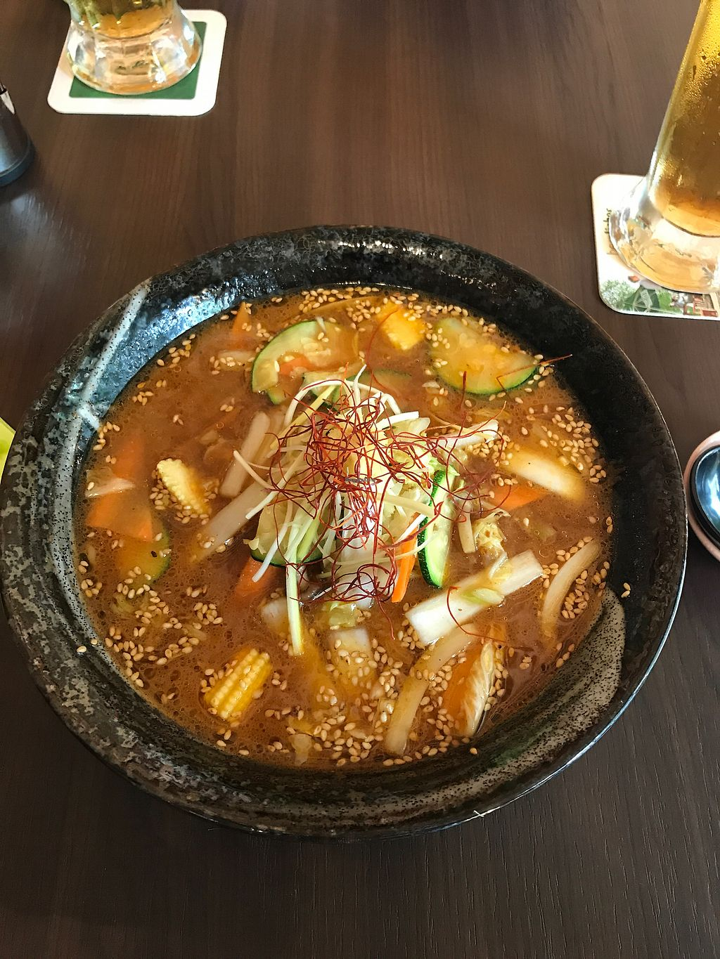 """Photo of Iimori Gyoza Bar  by <a href=""""/members/profile/artczo"""">artczo</a> <br/>spicy miso ramen <br/> July 30, 2017  - <a href='/contact/abuse/image/97428/286643'>Report</a>"""