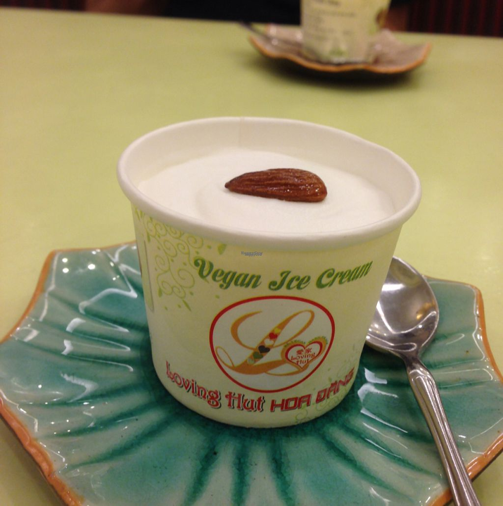 """Photo of Loving Hut Hoa Dang  by <a href=""""/members/profile/ghostgumtrees"""">ghostgumtrees</a> <br/>a highlight, vegan ice cream : )  <br/> March 22, 2017  - <a href='/contact/abuse/image/9742/239385'>Report</a>"""