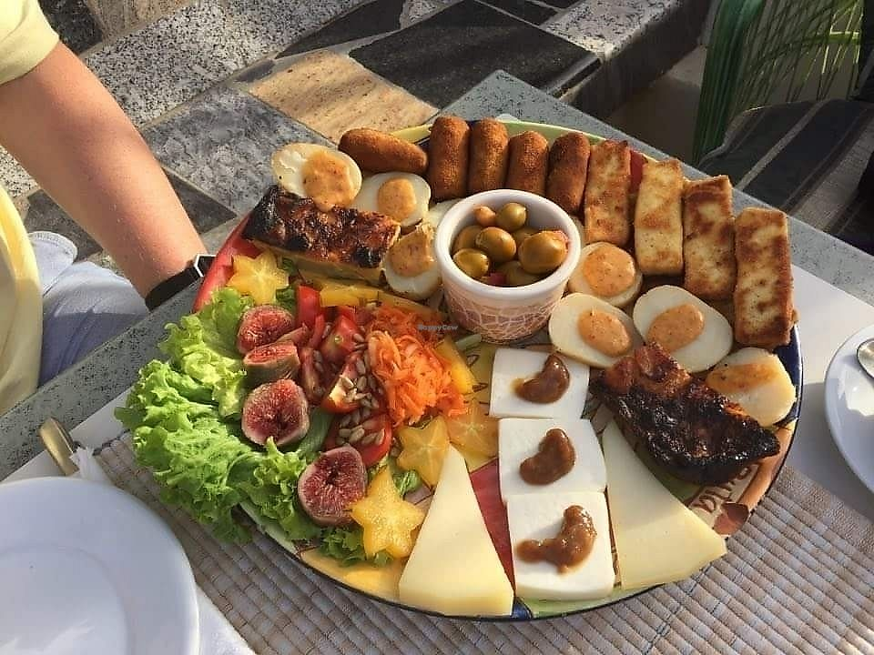 "Photo of La Ganania  by <a href=""/members/profile/AdrianWaters"">AdrianWaters</a> <br/>veggie tapas for two <br/> August 1, 2017  - <a href='/contact/abuse/image/97434/287618'>Report</a>"