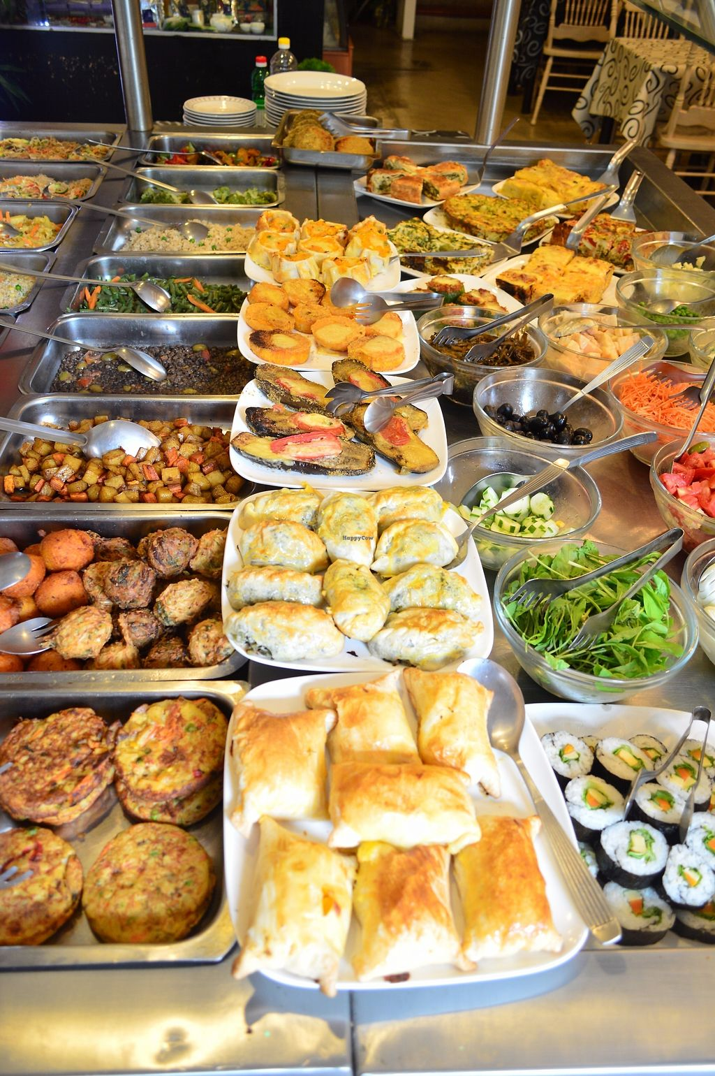 """Photo of Pei Chen Resto  by <a href=""""/members/profile/PeiChenRest%C3%B3"""">PeiChenRestó</a> <br/>Vegetarian Buffet by the pound <br/> July 31, 2017  - <a href='/contact/abuse/image/97449/286928'>Report</a>"""