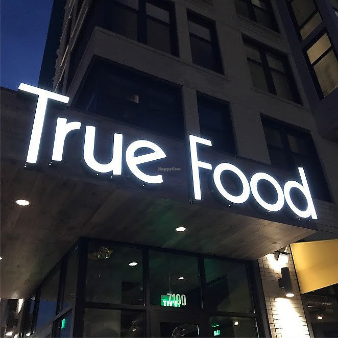 """Photo of True Food Kitchen  by <a href=""""/members/profile/ElissaBill"""">ElissaBill</a> <br/>Exterior sign <br/> July 30, 2017  - <a href='/contact/abuse/image/97480/286802'>Report</a>"""