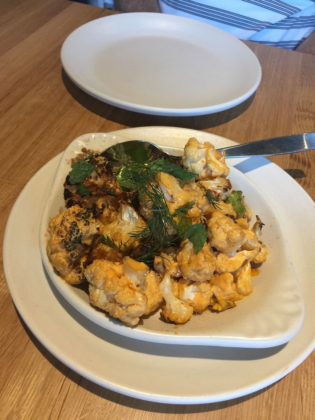 """Photo of True Food Kitchen  by <a href=""""/members/profile/ACCVeg"""">ACCVeg</a> <br/>Cauliflower  <br/> August 1, 2017  - <a href='/contact/abuse/image/97480/287676'>Report</a>"""