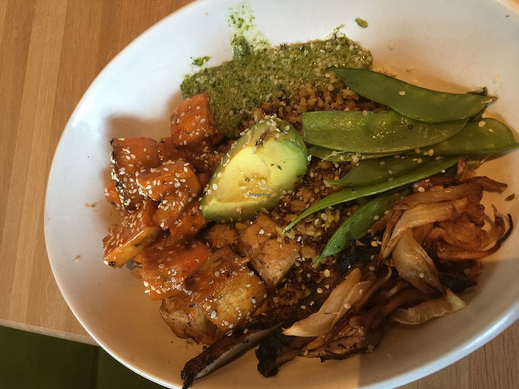 """Photo of True Food Kitchen  by <a href=""""/members/profile/ACCVeg"""">ACCVeg</a> <br/>Ancient Grains Bowl <br/> August 1, 2017  - <a href='/contact/abuse/image/97480/287679'>Report</a>"""