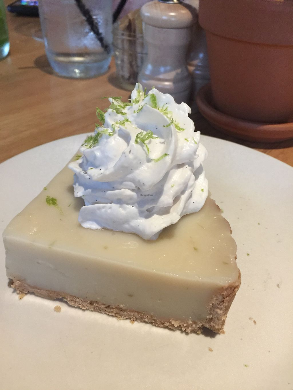 """Photo of True Food Kitchen  by <a href=""""/members/profile/ACCVeg"""">ACCVeg</a> <br/>Key Lime Pie! <br/> August 1, 2017  - <a href='/contact/abuse/image/97480/287680'>Report</a>"""