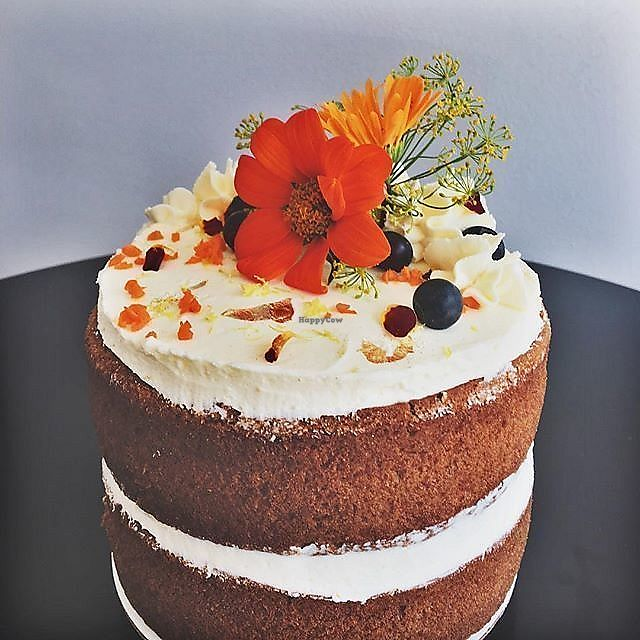 """Photo of The Humble Bee Shoppe  by <a href=""""/members/profile/rancidl"""">rancidl</a> <br/>Vegan Carrot Cake <br/> September 20, 2017  - <a href='/contact/abuse/image/97485/306431'>Report</a>"""