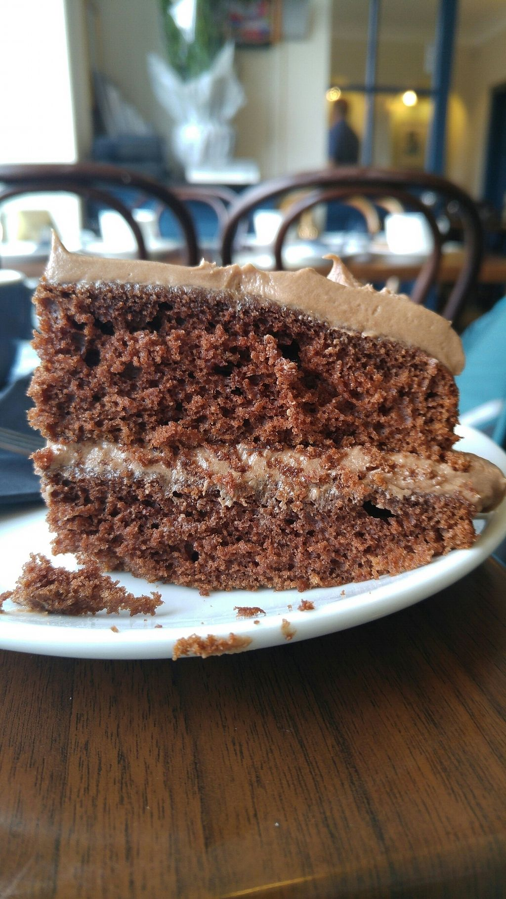 """Photo of Lempicka Cafe and Bistro  by <a href=""""/members/profile/JohnKnight"""">JohnKnight</a> <br/>Chocolate layer cake <br/> July 30, 2017  - <a href='/contact/abuse/image/97486/286787'>Report</a>"""