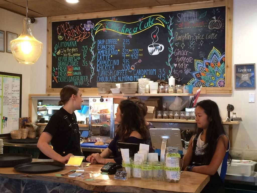 """Photo of Chickpea Restaurant & Food Truck  by <a href=""""/members/profile/Mdrutz"""">Mdrutz</a> <br/>Bar area <br/> October 1, 2017  - <a href='/contact/abuse/image/97524/310741'>Report</a>"""