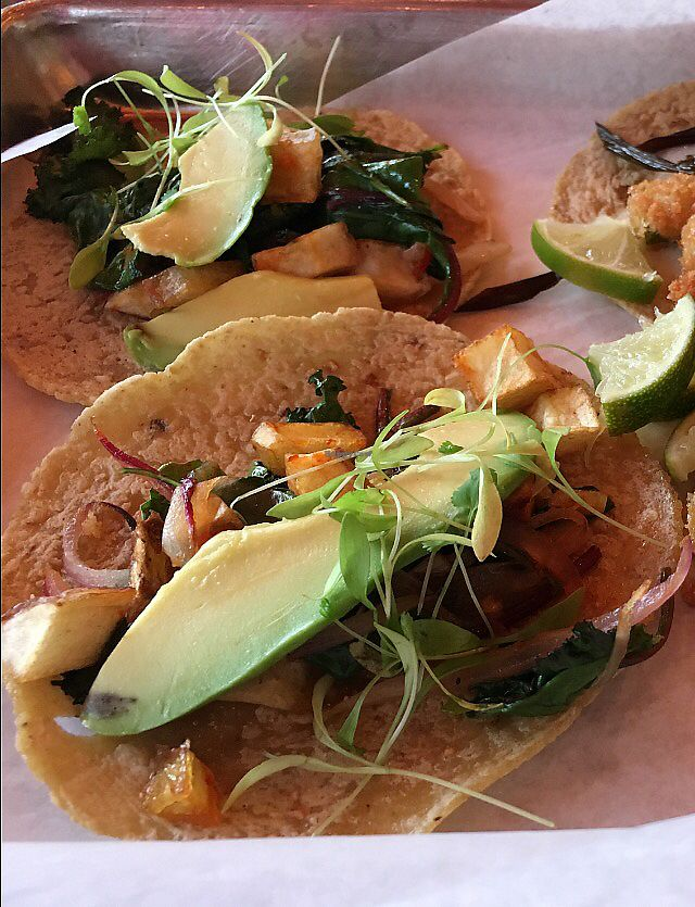 """Photo of El Cotorro  by <a href=""""/members/profile/AlexandraPhillips"""">AlexandraPhillips</a> <br/>vegan tacos with avocado added  <br/> July 31, 2017  - <a href='/contact/abuse/image/97531/287172'>Report</a>"""