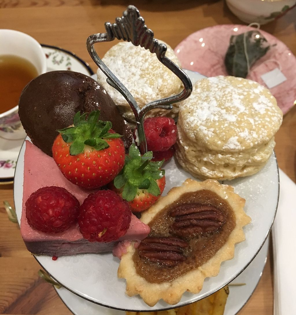 "Photo of Nutmegs Patisserie   by <a href=""/members/profile/Caring%20Cosmetics"">Caring Cosmetics</a> <br/>Vegan Afternoon Tea <br/> January 8, 2018  - <a href='/contact/abuse/image/97539/344333'>Report</a>"