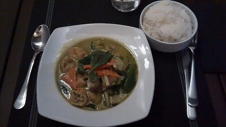 """Photo of Thai Corner  by <a href=""""/members/profile/LeFunks"""">LeFunks</a> <br/>Gaeng Kiew Wan (green curry) <br/> December 12, 2017  - <a href='/contact/abuse/image/97550/334999'>Report</a>"""
