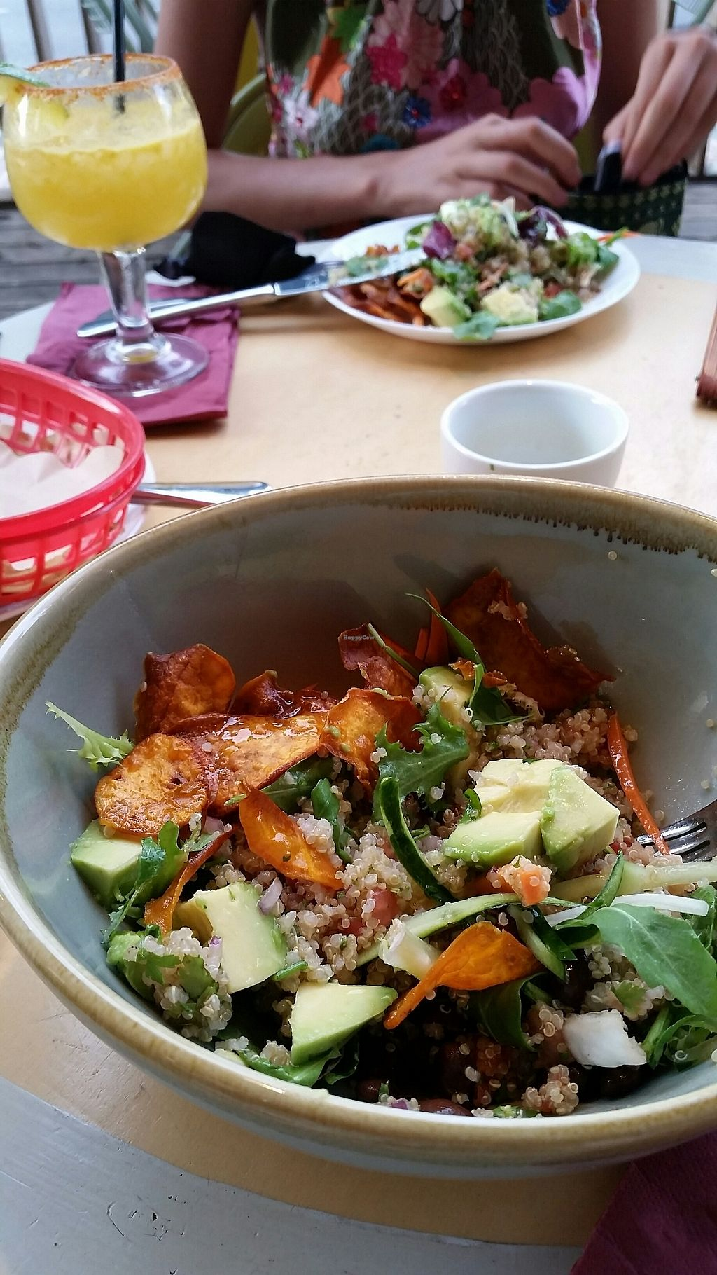 """Photo of Taco Paco  by <a href=""""/members/profile/rominargh"""">rominargh</a> <br/>quinoa salad (half eaten) <br/> August 1, 2017  - <a href='/contact/abuse/image/97558/287569'>Report</a>"""