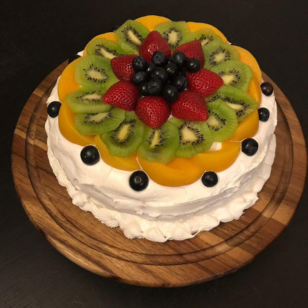 """Photo of Sweets by PBBQ  by <a href=""""/members/profile/Dkwillard"""">Dkwillard</a> <br/>customer ordered Vegan birthday cake <br/> August 12, 2017  - <a href='/contact/abuse/image/97574/291964'>Report</a>"""