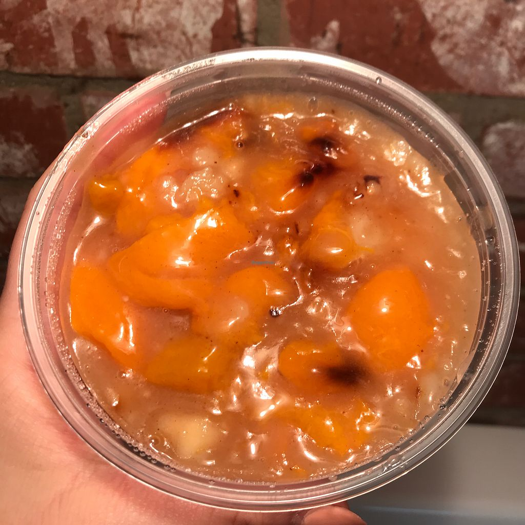 """Photo of Sweets by PBBQ  by <a href=""""/members/profile/Dkwillard"""">Dkwillard</a> <br/>Gluten free peach cobbler <br/> November 28, 2017  - <a href='/contact/abuse/image/97574/330240'>Report</a>"""