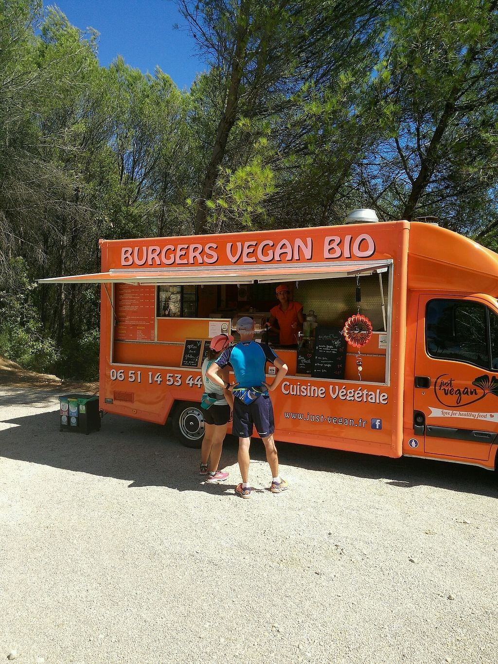 """Photo of Just Vegan - Food Truck  by <a href=""""/members/profile/Logge"""">Logge</a> <br/>parked outside Amadeus <br/> September 18, 2017  - <a href='/contact/abuse/image/97588/305635'>Report</a>"""