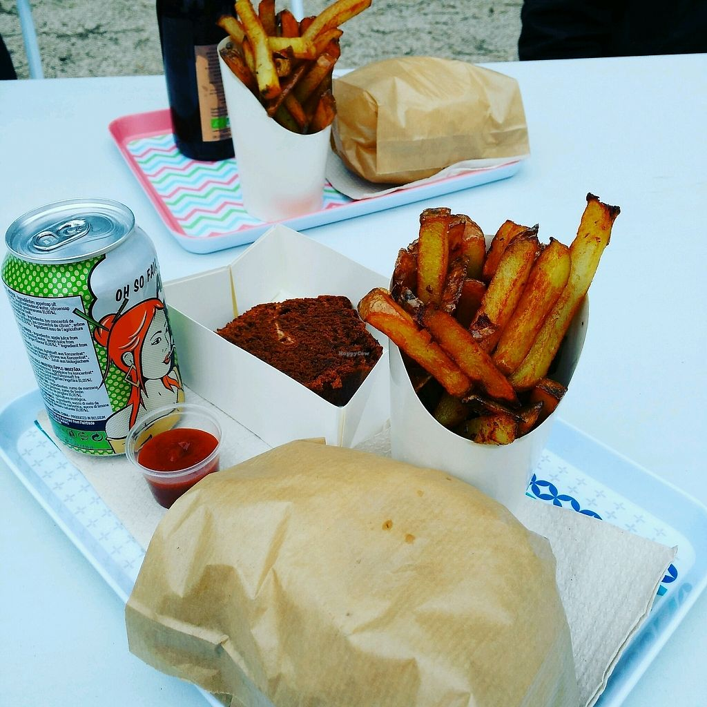 """Photo of Just Vegan - Food Truck  by <a href=""""/members/profile/Logge"""">Logge</a> <br/>the daily special <br/> January 30, 2018  - <a href='/contact/abuse/image/97588/352642'>Report</a>"""