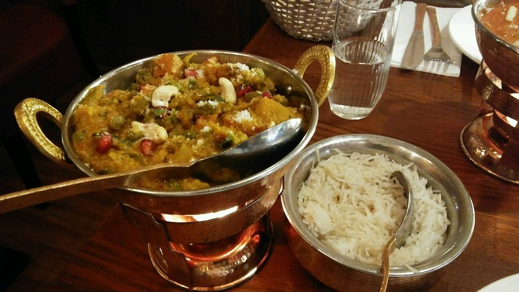 "Photo of Jaipur  by <a href=""/members/profile/Anettens"">Anettens</a> <br/>Vegan Navratan Korma <br/> December 28, 2017  - <a href='/contact/abuse/image/97592/340142'>Report</a>"