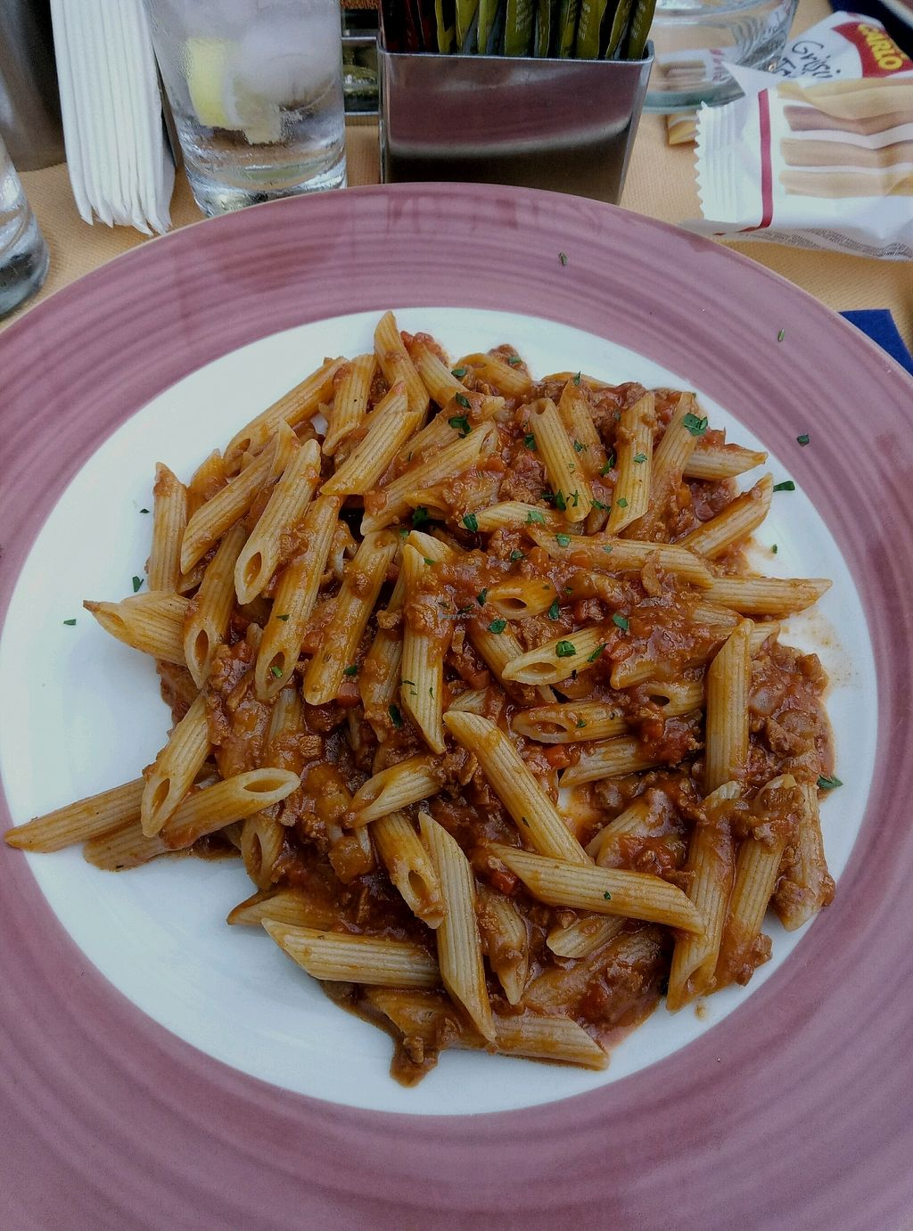 "Photo of Fauno Bar  by <a href=""/members/profile/YuvalLalyAzrad"">YuvalLalyAzrad</a> <br/>Pasta with soy ragu <br/> September 24, 2017  - <a href='/contact/abuse/image/97606/307897'>Report</a>"