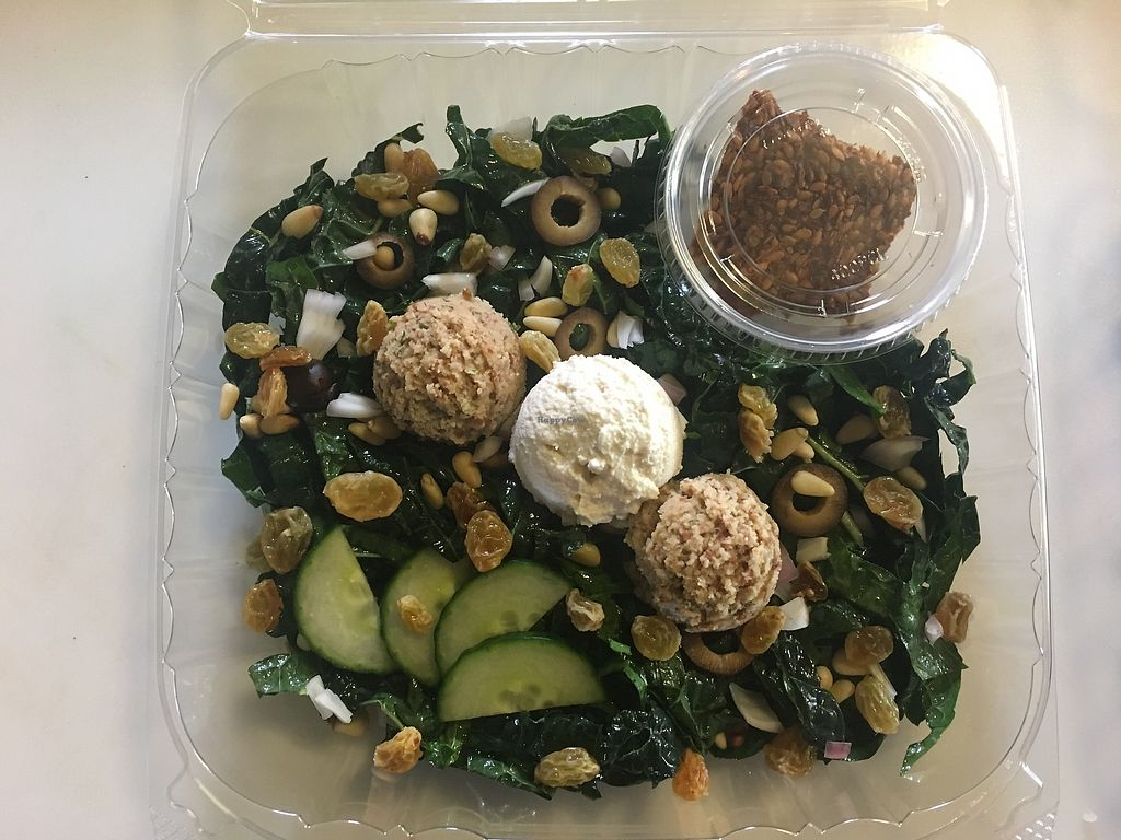 "Photo of Rawlicious  by <a href=""/members/profile/Rawlicious"">Rawlicious</a> <br/>Mediterranean kale salad <br/> August 19, 2017  - <a href='/contact/abuse/image/97607/294164'>Report</a>"