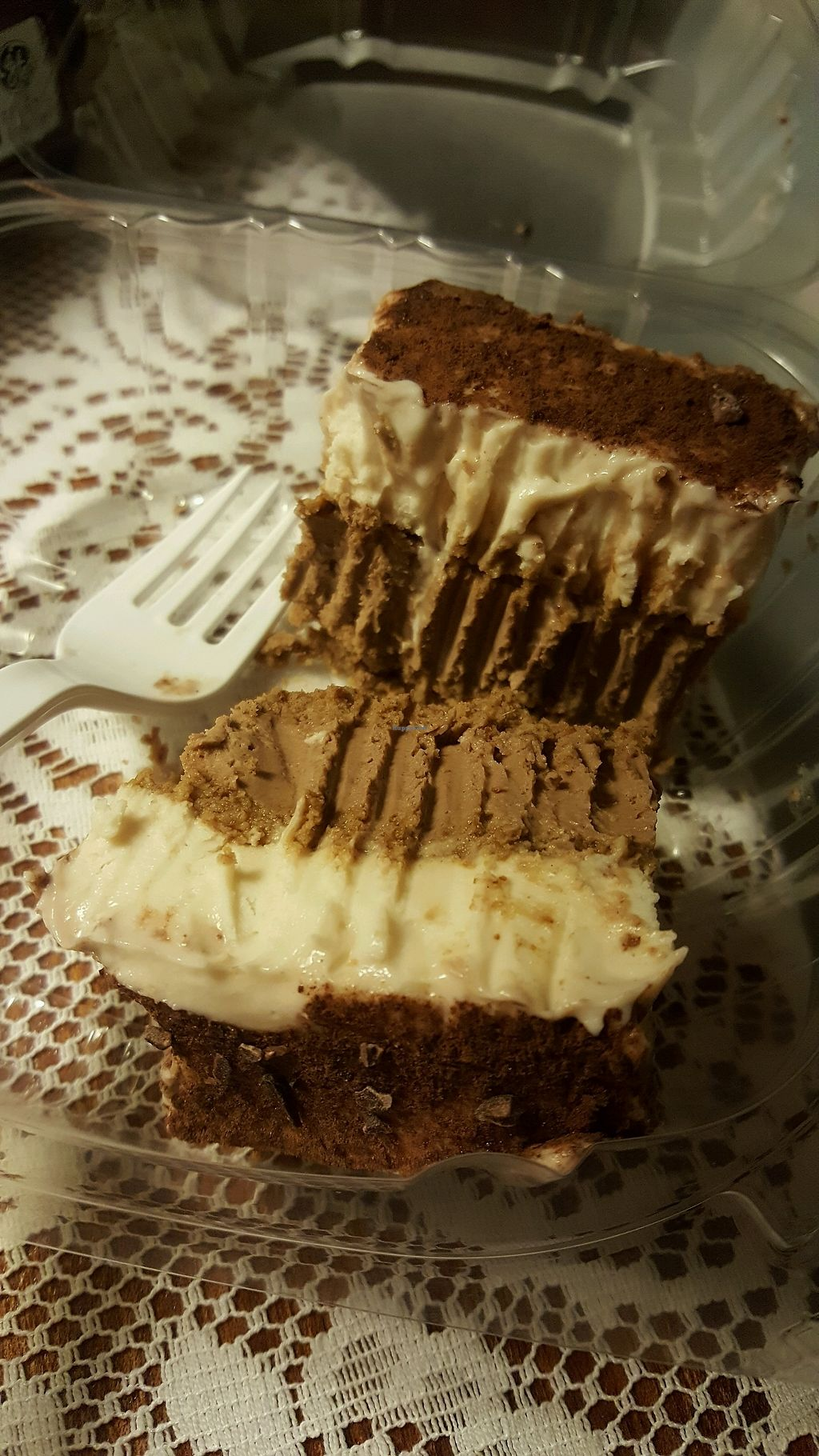 "Photo of Rawlicious  by <a href=""/members/profile/WiderVistas"">WiderVistas</a> <br/>Vegan Raw Tiramisu. Omnivore husband approved <br/> March 18, 2018  - <a href='/contact/abuse/image/97607/372555'>Report</a>"
