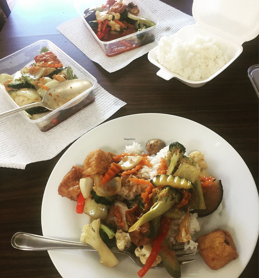 "Photo of Thai Container  by <a href=""/members/profile/nicole_m"">nicole_m</a> <br/>Basil, chilli and eggplant stir fry <br/> August 4, 2017  - <a href='/contact/abuse/image/97612/288500'>Report</a>"