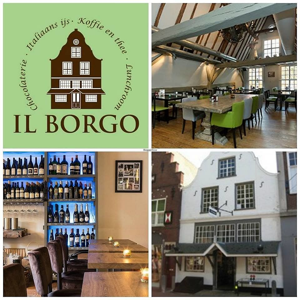 """Photo of Il Borgo  by <a href=""""/members/profile/Mmmmvegan"""">Mmmmvegan</a> <br/>Il Borgo - restaurant - café - enoteca <br/> August 1, 2017  - <a href='/contact/abuse/image/97621/287595'>Report</a>"""