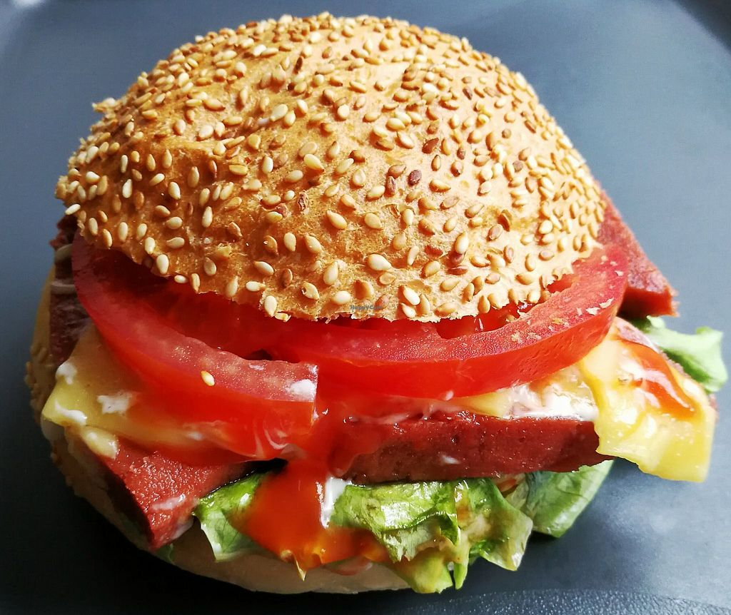 """Photo of Fari's Delice  by <a href=""""/members/profile/community5"""">community5</a> <br/>Vegan burger <br/> August 3, 2017  - <a href='/contact/abuse/image/97633/288288'>Report</a>"""