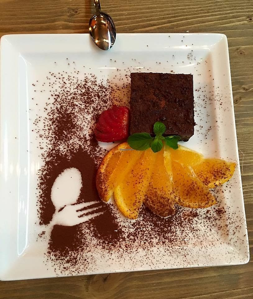 """Photo of Cortina Pub  by <a href=""""/members/profile/community5"""">community5</a> <br/>Vegan dessert <br/> August 3, 2017  - <a href='/contact/abuse/image/97638/288304'>Report</a>"""