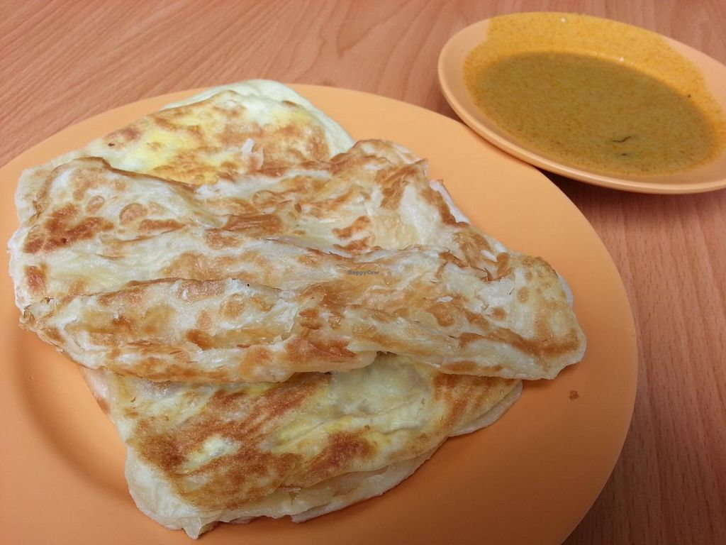 """Photo of Divine Vegetarian Family Restaurant  by <a href=""""/members/profile/Bekind"""">Bekind</a> <br/>Roti Prata <br/> December 26, 2014  - <a href='/contact/abuse/image/9763/88766'>Report</a>"""