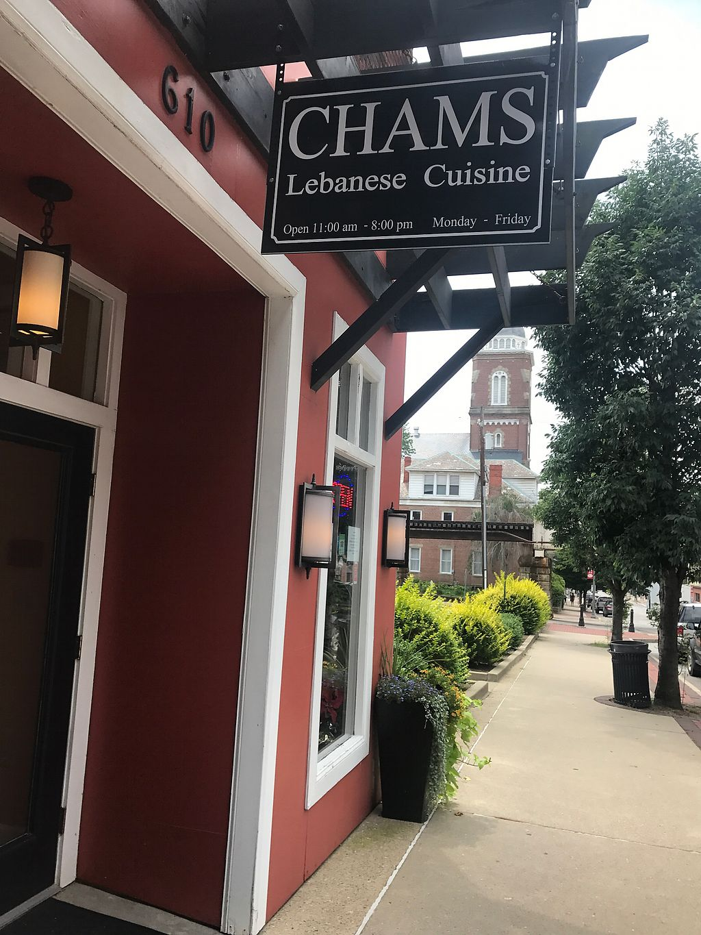 """Photo of Chams Lebanese Cuisine  by <a href=""""/members/profile/EatGoodVegFood"""">EatGoodVegFood</a> <br/>Chams Rocks! <br/> August 2, 2017  - <a href='/contact/abuse/image/97645/288001'>Report</a>"""